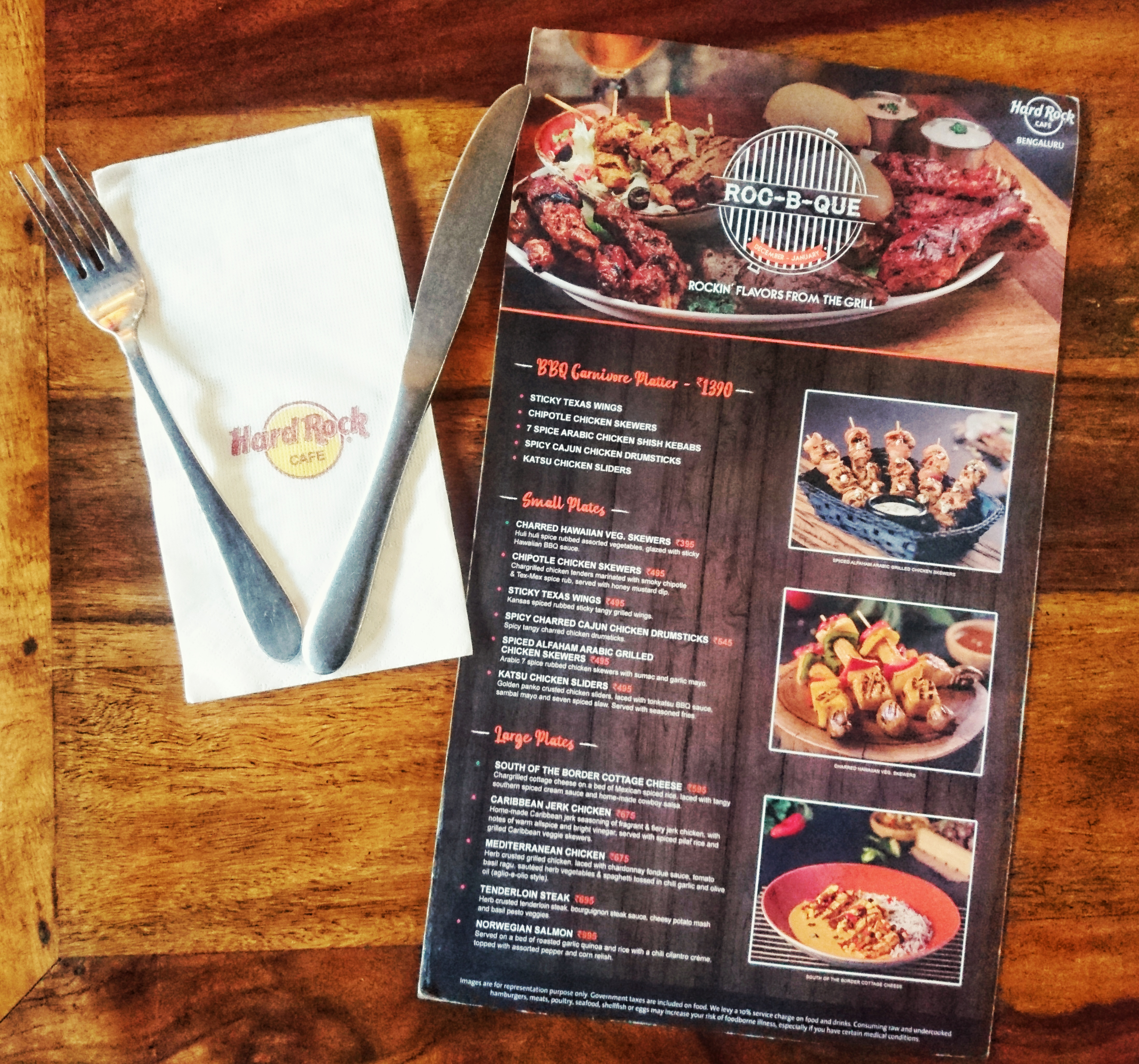 A carnival of fiery BBQ, grills and unique LIIT's @Hard rock café