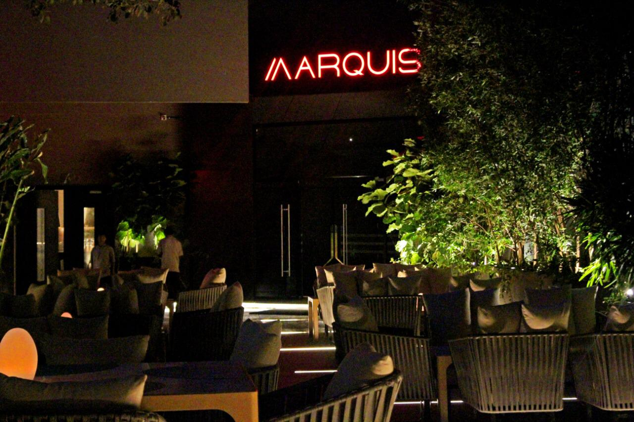 MARQUIS; A new party destination.